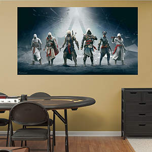 Legacy Mural: Assassin's Creed IV Fathead Wall Decal